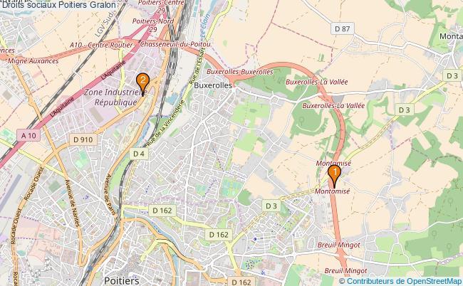 plan Droits sociaux Poitiers Associations Droits sociaux Poitiers : 3 associations