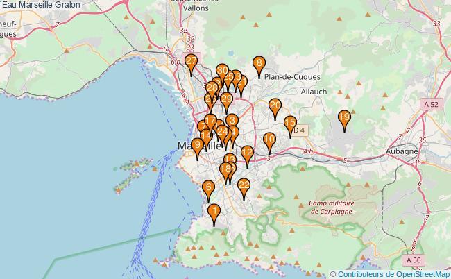 plan Eau Marseille Associations Eau Marseille : 124 associations
