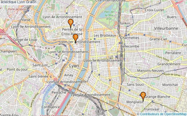plan éclectique Lyon Associations éclectique Lyon : 3 associations