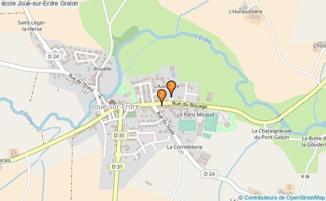 plan école Joué-sur-Erdre Associations école Joué-sur-Erdre : 3 associations