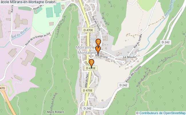 plan école Moirans-en-Montagne Associations école Moirans-en-Montagne : 3 associations