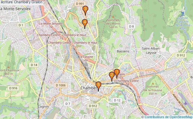 plan écriture Chambéry Associations écriture Chambéry : 5 associations