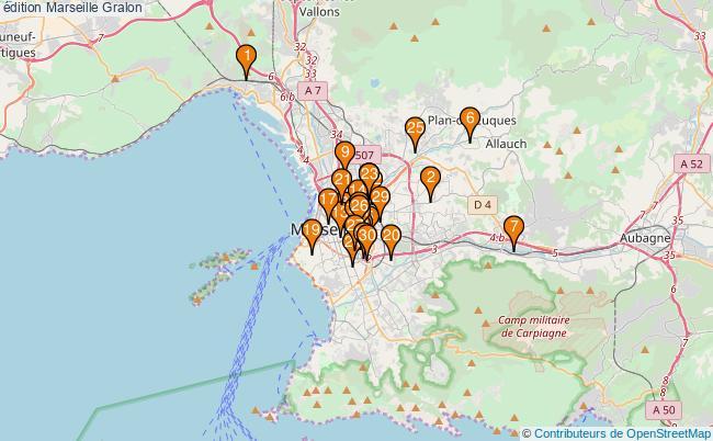 plan édition Marseille Associations édition Marseille : 383 associations