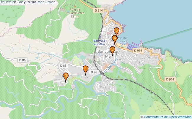 plan éducation Banyuls-sur-Mer Associations éducation Banyuls-sur-Mer : 5 associations