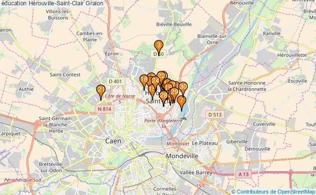 plan éducation Hérouville-Saint-Clair Associations éducation Hérouville-Saint-Clair : 59 associations