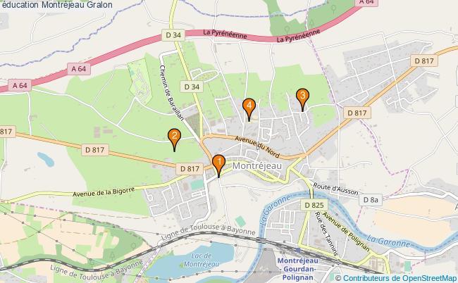 plan éducation Montréjeau Associations éducation Montréjeau : 5 associations