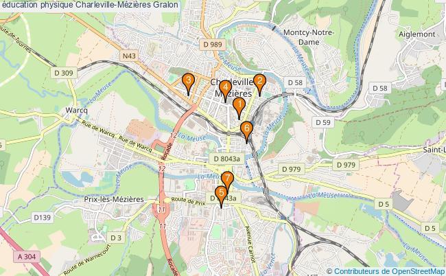 plan éducation physique Charleville-Mézières Associations éducation physique Charleville-Mézières : 8 associations
