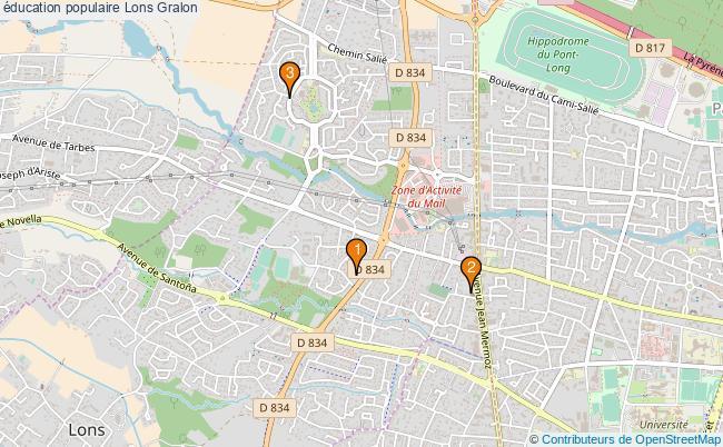 plan éducation populaire Lons Associations éducation populaire Lons : 3 associations