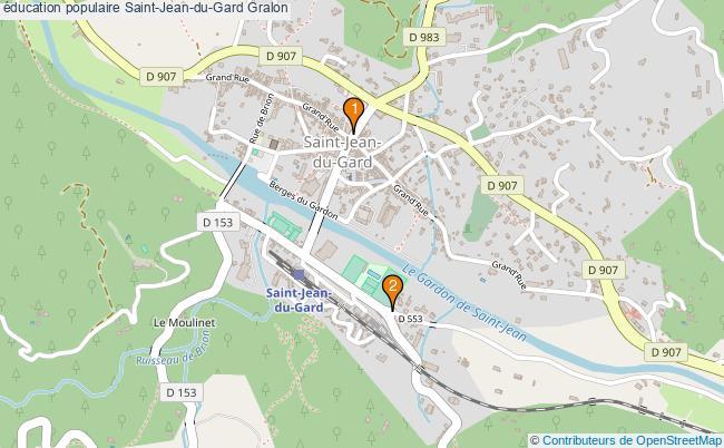 plan éducation populaire Saint-Jean-du-Gard Associations éducation populaire Saint-Jean-du-Gard : 2 associations