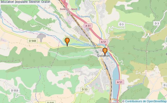 plan éducation populaire Sisteron Associations éducation populaire Sisteron : 2 associations