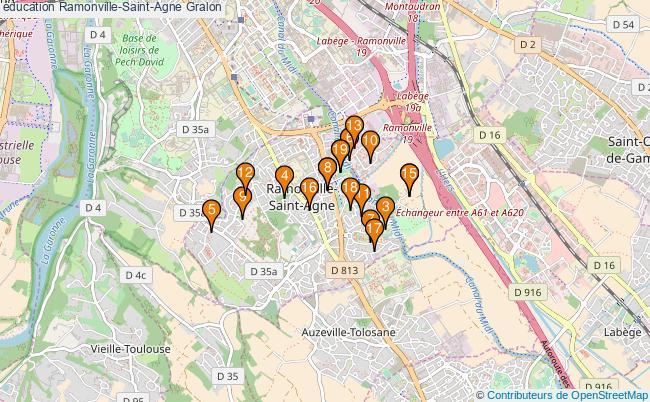 plan éducation Ramonville-Saint-Agne Associations éducation Ramonville-Saint-Agne : 21 associations