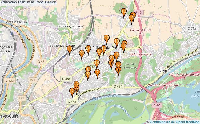 plan éducation Rillieux-la-Pape Associations éducation Rillieux-la-Pape : 25 associations