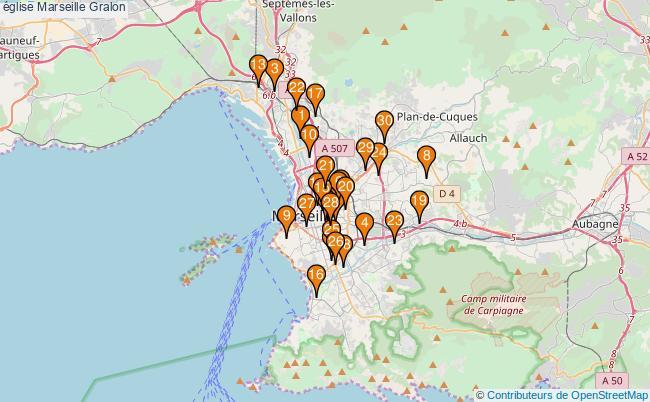 plan église Marseille Associations église Marseille : 41 associations