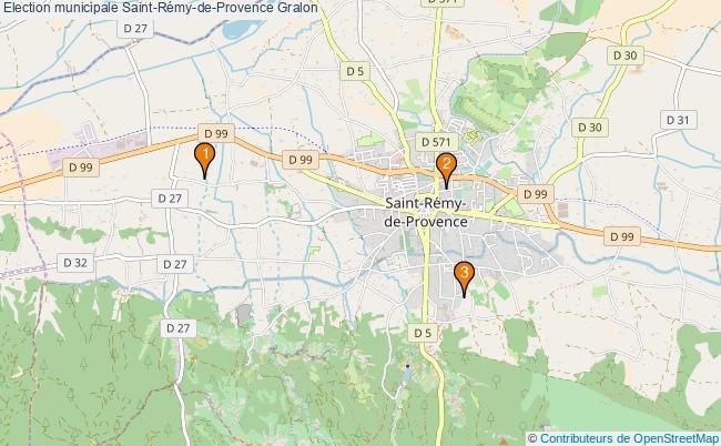 plan Election municipale Saint-Rémy-de-Provence Associations election municipale Saint-Rémy-de-Provence : 3 associations