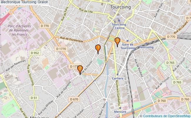 plan électronique Tourcoing Associations électronique Tourcoing : 3 associations