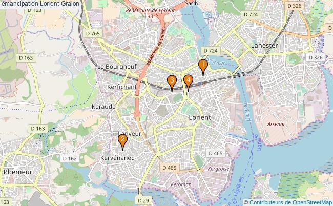 plan émancipation Lorient Associations émancipation Lorient : 4 associations