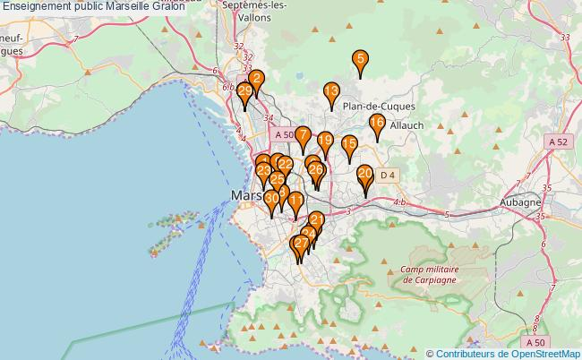 plan Enseignement public Marseille Associations enseignement public Marseille : 38 associations