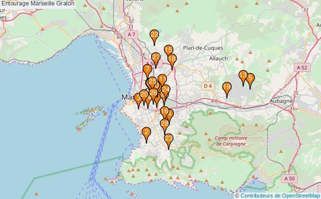 plan Entourage Marseille Associations Entourage Marseille : 30 associations