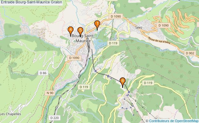 plan Entraide Bourg-Saint-Maurice Associations entraide Bourg-Saint-Maurice : 6 associations