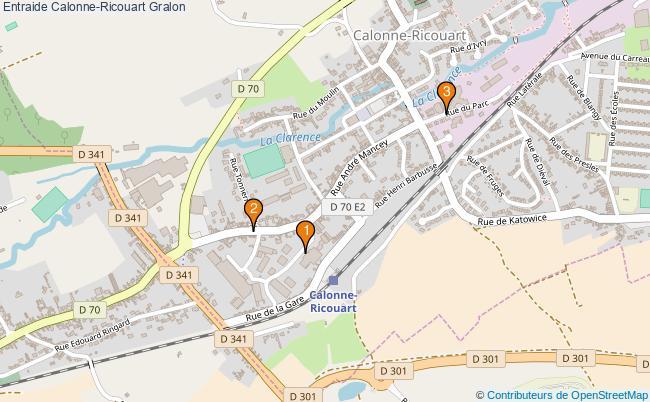 plan Entraide Calonne-Ricouart Associations entraide Calonne-Ricouart : 3 associations