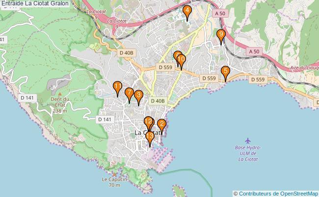 plan Entraide La Ciotat Associations entraide La Ciotat : 13 associations