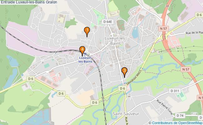 plan Entraide Luxeuil-les-Bains Associations entraide Luxeuil-les-Bains : 4 associations