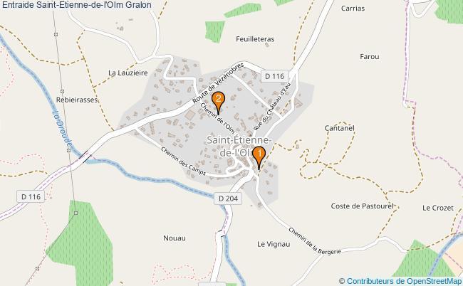 plan Entraide Saint-Etienne-de-l'Olm Associations entraide Saint-Etienne-de-l'Olm : 2 associations