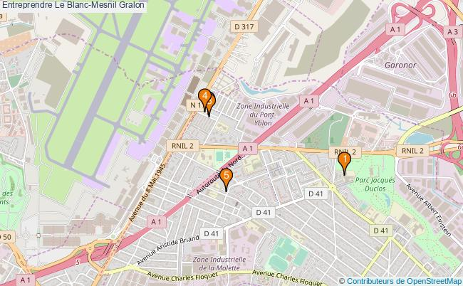 plan Entreprendre Le Blanc-Mesnil Associations entreprendre Le Blanc-Mesnil : 5 associations