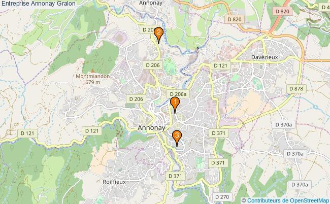 plan Entreprise Annonay Associations entreprise Annonay : 4 associations
