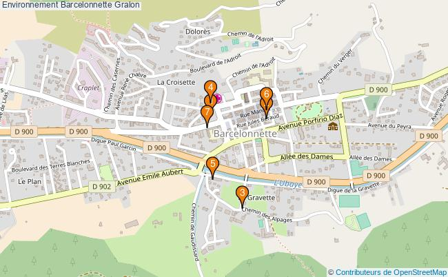 plan Environnement Barcelonnette Associations Environnement Barcelonnette : 6 associations