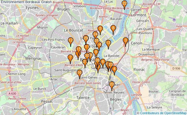 plan Environnement Bordeaux Associations Environnement Bordeaux : 263 associations