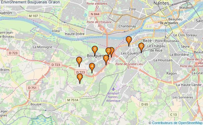 plan Environnement Bouguenais Associations Environnement Bouguenais : 9 associations