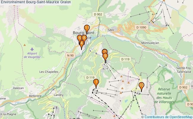 plan Environnement Bourg-Saint-Maurice Associations Environnement Bourg-Saint-Maurice : 11 associations