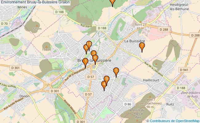 plan Environnement Bruay-la-Buissière Associations Environnement Bruay-la-Buissière : 11 associations