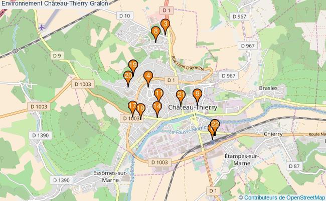 plan Environnement Château-Thierry Associations Environnement Château-Thierry : 21 associations