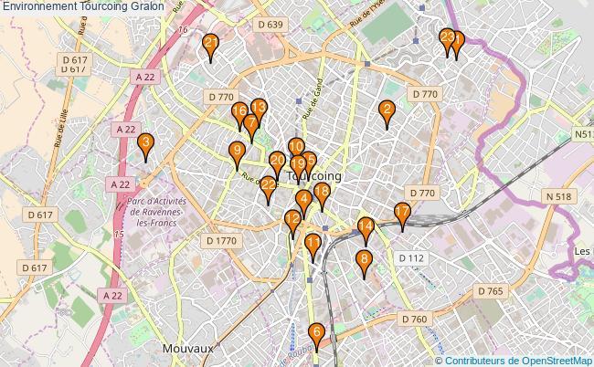 plan Environnement Tourcoing Associations Environnement Tourcoing : 26 associations