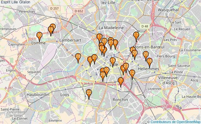 plan Esprit Lille Associations Esprit Lille : 117 associations