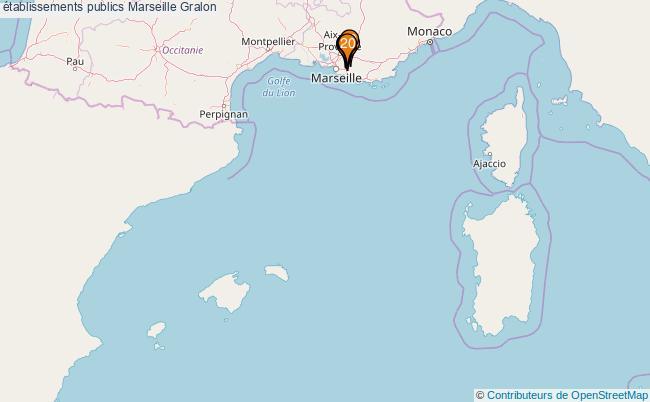 plan établissements publics Marseille Associations établissements publics Marseille : 21 associations