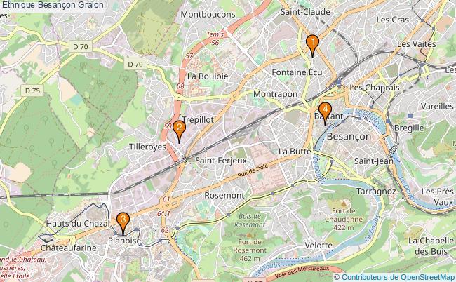 plan Ethnique Besançon Associations ethnique Besançon : 4 associations