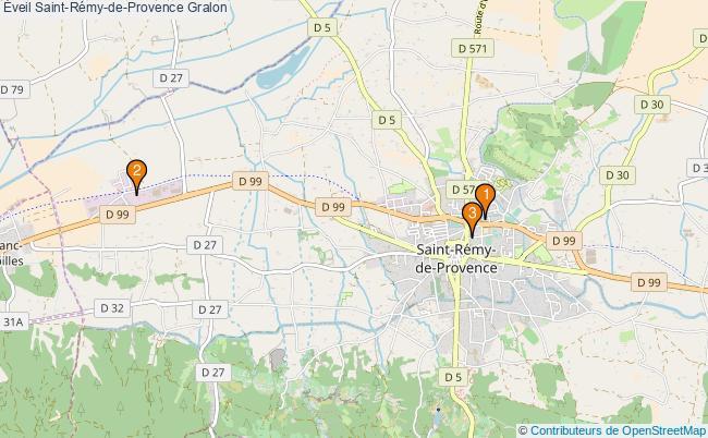 plan Éveil Saint-Rémy-de-Provence Associations Éveil Saint-Rémy-de-Provence : 3 associations
