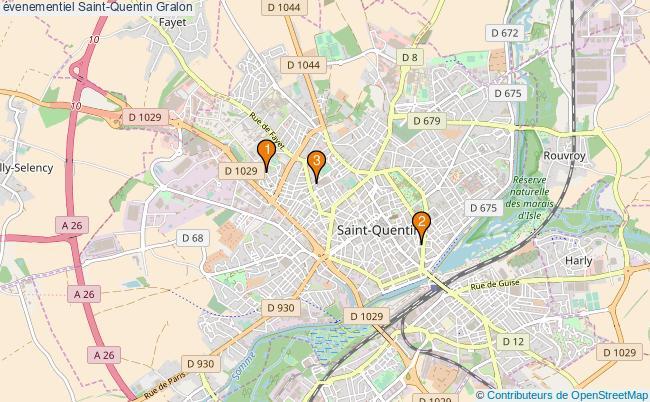 plan évenementiel Saint-Quentin Associations évenementiel Saint-Quentin : 4 associations