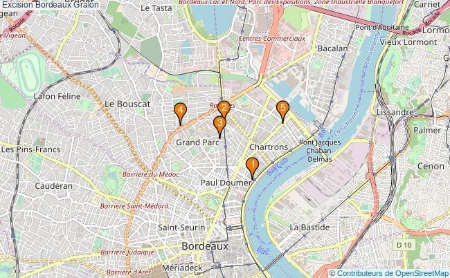 plan Excision Bordeaux Associations excision Bordeaux : 5 associations