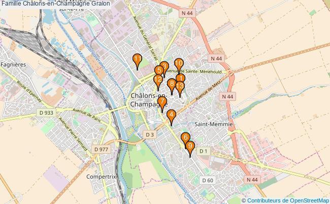 plan Famille Châlons-en-Champagne Associations famille Châlons-en-Champagne : 14 associations