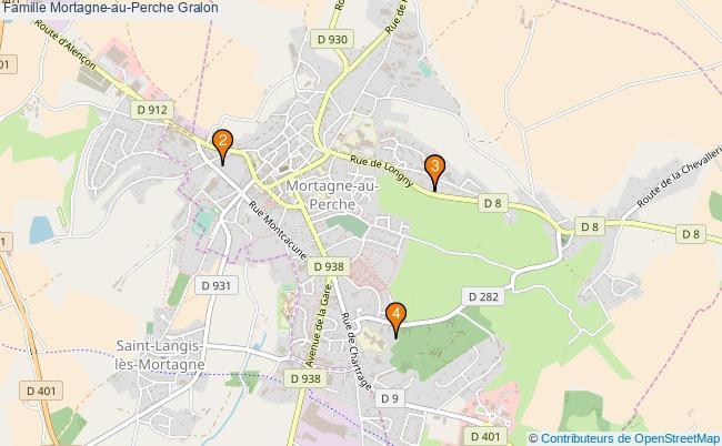 plan Famille Mortagne-au-Perche Associations famille Mortagne-au-Perche : 4 associations