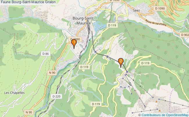plan Faune Bourg-Saint-Maurice Associations faune Bourg-Saint-Maurice : 2 associations