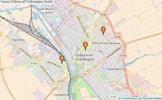 plan Faune Châlons-en-Champagne Associations faune Châlons-en-Champagne : 3 associations
