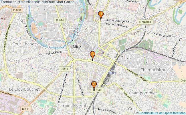 plan Formation professionnelle continue Niort Associations formation professionnelle continue Niort : 3 associations