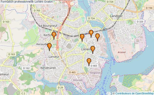 plan Formation professionnelle Lorient Associations formation professionnelle Lorient : 8 associations