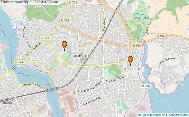 plan Fracture numérique Lanester Associations fracture numérique Lanester : 2 associations