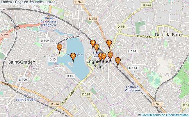 plan Français Enghien-les-Bains Associations français Enghien-les-Bains : 10 associations